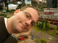 Volker im Miniaturwunderland Hamburg