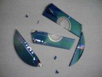 Vom Shredder zerstörte CD