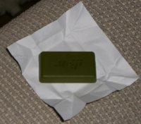 Grüntee-Schokolade aus Japan - Offen