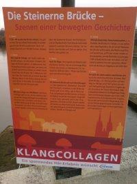Regensburg Steinerne Brücke - Szenen einer bewegten Geschichte